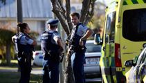 'Come to your front door with your hands in the air': Armed police swarm on Chch street