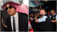 Jarryd Hayne launches appeal as reports emerge of violent scenes following jail sentence. Photos / Getty