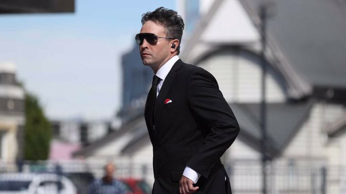 Joseph Douglas McGirr outside of the Christchurch District Court on Friday. (Photo / George Heard)