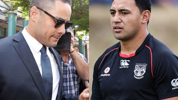 Jarryd Hayne and Krisnan Inu were teammates at the Parramatta Eels between 2007 and 2010. (Photos / Getty Images)