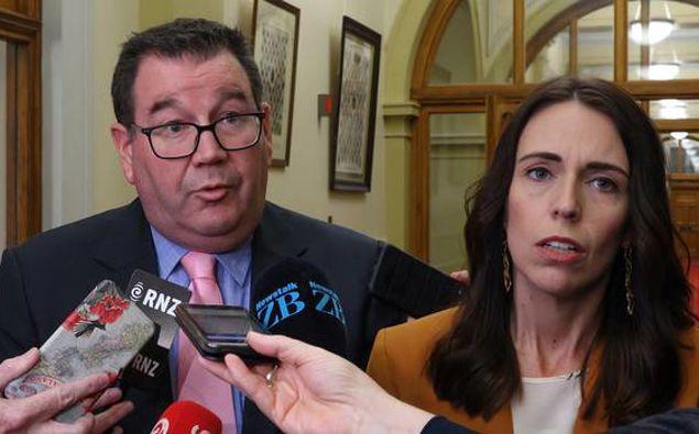 Finance Minister Grant Robertson and Prime Minister Jacinda Ardern. (Photo / File)