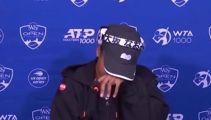 Watch: 'Bully' makes Naomi Osaka cry, leave press conference