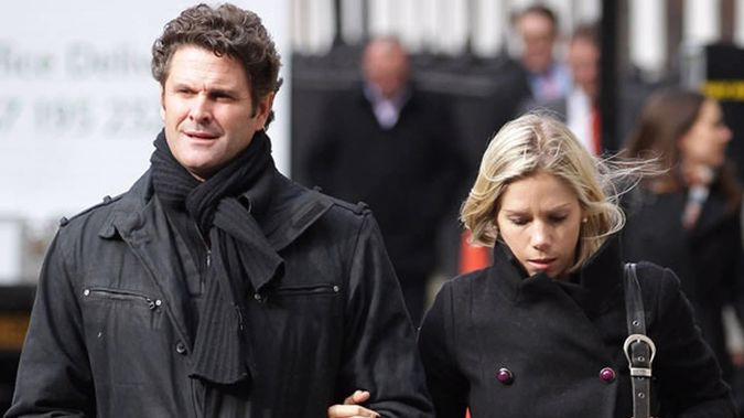 Chris Cairns and wife Melanie. (Photo / Getty)