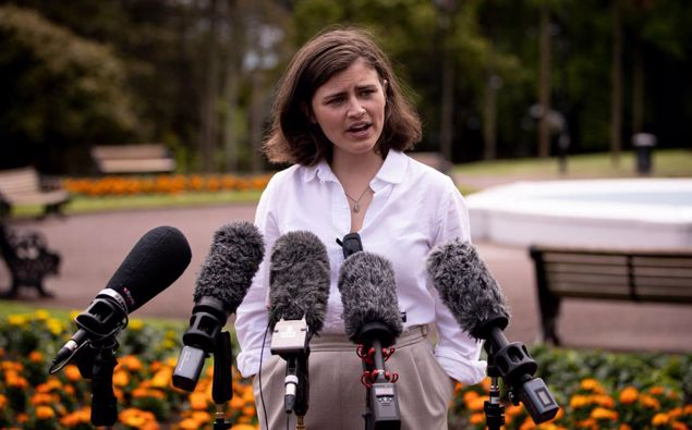 Green Party MP Chlöe Swarbrick. (Photo / NZ Herald)