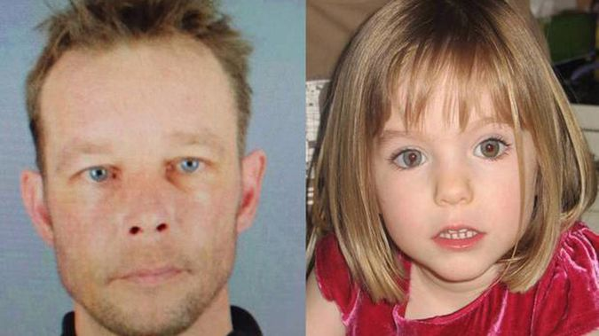 Police tasked with finding what happened to Madeleine McCann are hopeful prime suspect Christian Brueckner will 'crack' while caged up in a tougher new jail. (Photo / NZ Herald)