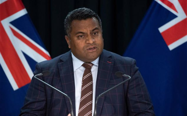 Immigration Minister Kris Faafoi. (Photo / Mark Mitchell)