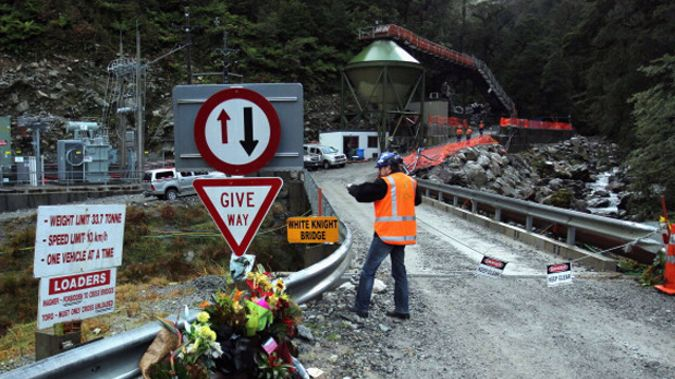 Pike River families were called to the meeting by mine owner Solid Energy to discuss the possibility of re-entering the mine (Photo: Getty Images)