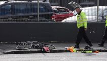 One dead after cyclist and truck crash in Auckland