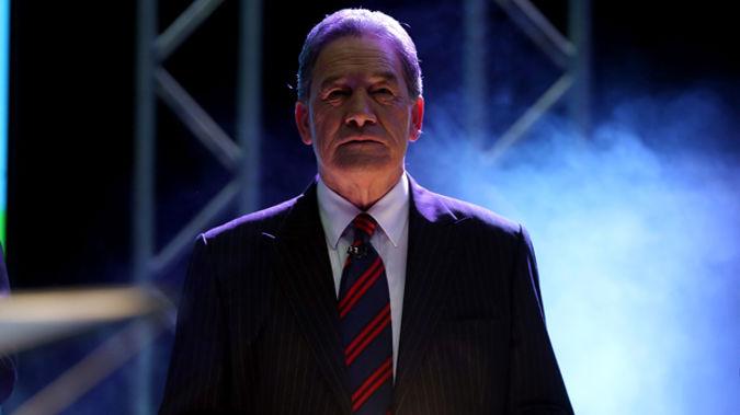 Winston Peters at the TVNZ Leaders Debate last week (Getty Images)