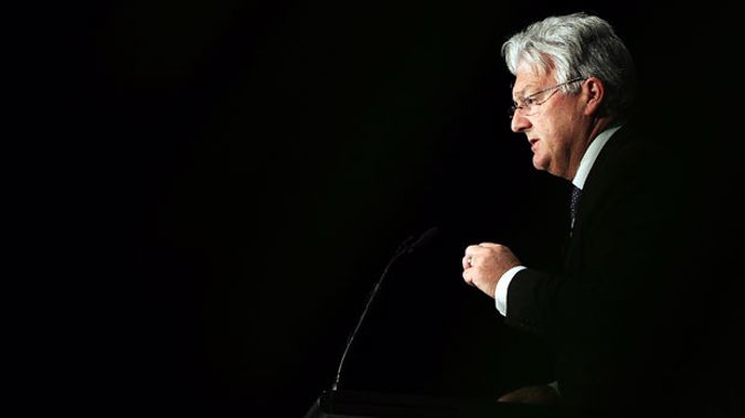 """Peter Dunne says he was """"flippant"""" to liken New Zealand First to the KKK (Getty Images)"""