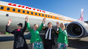 PHOTOS: Qantas' new retro livery