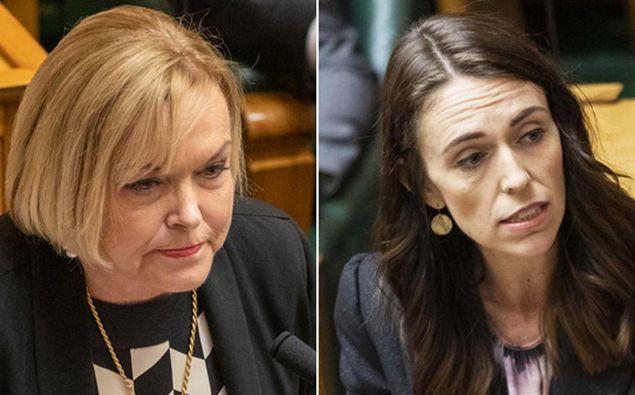 Judith Collins and Jacinda Ardern. (Photo / NZ Herald)