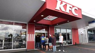 KFC with a side of vaccination