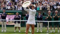 Start the Barty! Australian wins Wimbledon for 2nd major