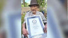Emilio Flores Márquez is the oldest living man in the world at 112, according to Guinness World Records. Photo / Guinness World Records
