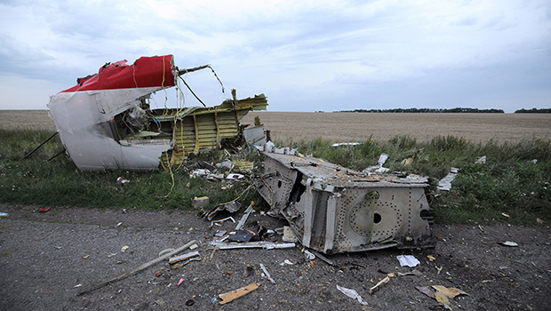 MH17 wreckage recovered from crash site