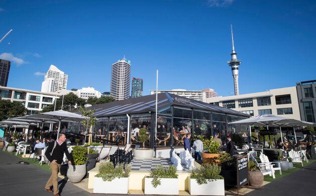 Headquarters in Auckland's viaduct. (Photo / NZ Herald)