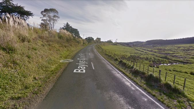 A man was hit and killed while walking down Baylys Coast Rd, Dargaville, in the dark. Photo / Google
