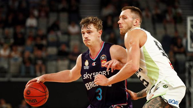 Finn Delany is expected to again play a key role for the New Zealand Breakers in the upcoming season. (Photo / Getty Images)