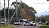 Grim start to long weekend: Four dead in van and truck crash