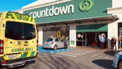 The attack took place at the Cumberland St Countdown on May 10. (Photo / ODT)