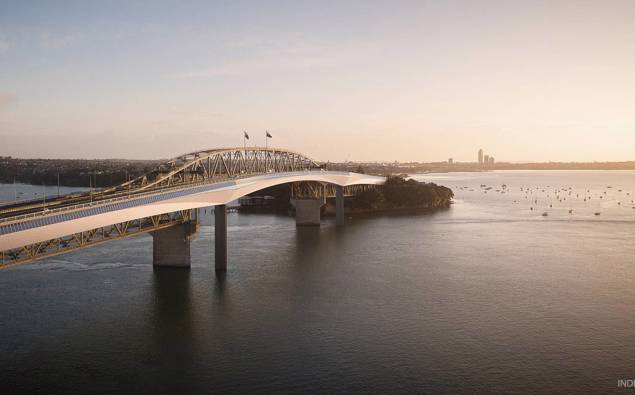 Kate Hawkesby: Cycle bridge in Auckland ain't happening