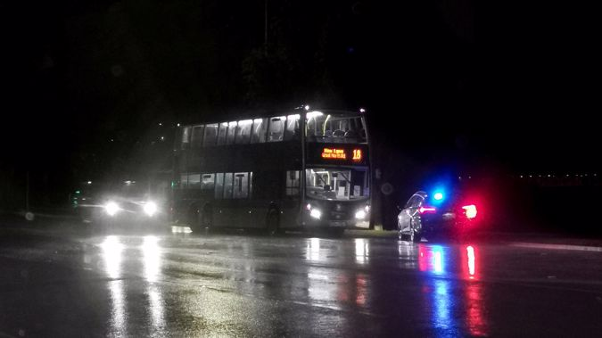 Bus driver David Bahler remains in Auckland City Hospital with serious injuries after a brutal attack on Wednesday night. (Photo / Hayden Woodward)