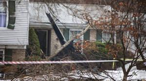PHOTOS: Plane crashes into house in Maryland, USA