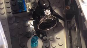 PHOTOS: Man proposes to girlfriend using Star Wars Lego