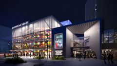 An artist's impression of the Auckland Waterfront Theatre (Supplied)
