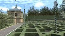 New Hamilton garden gets Tudor touch
