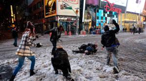 PHOTOS: Snowstorm hits US East Coast
