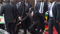 The best of the #MugabeFalls meme
