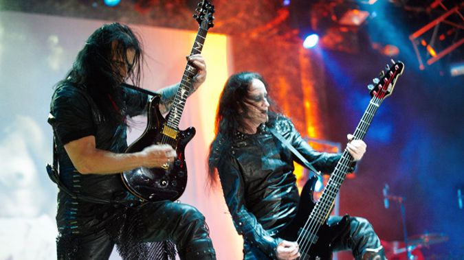 Heavy metal band Cradle of Filth, who created the T-shirt (Getty Images)
