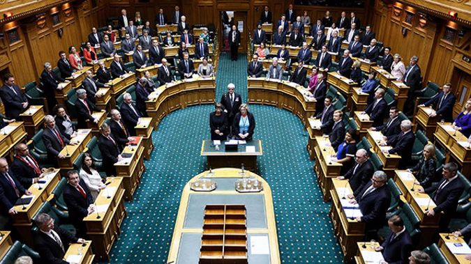 The New Zealand Parliament (Getty Images)