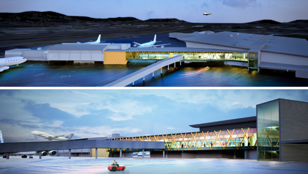 Plans for the Wellington Airport extension. (Supplied)