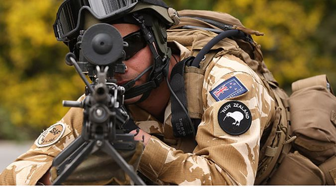 NZDF soldier (Getty Images)