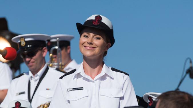 Rebecca Nelson, Navy singer (Newspix)