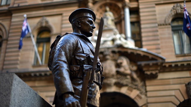 The newly restored memorial at Martin Place (Getty Images)