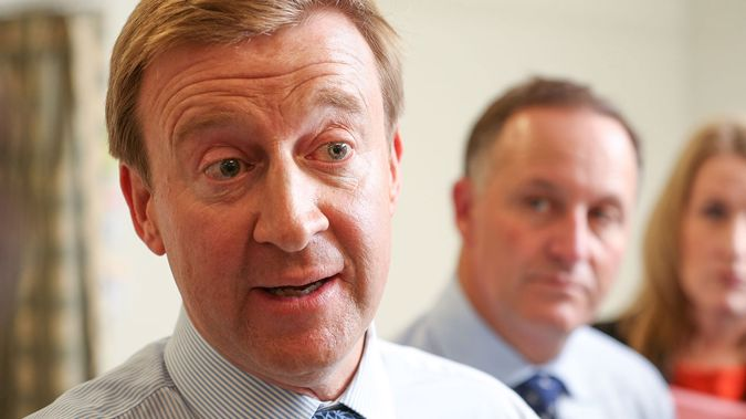 Health Minister Jonathan Coleman and Prime Minister John Key (Getty Images)