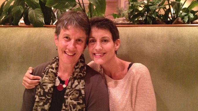Lecretia Seales and her mother (NZ Herald)