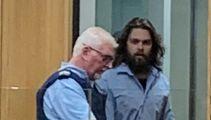Horrified partner recalls bloody scene after alleged stabbing