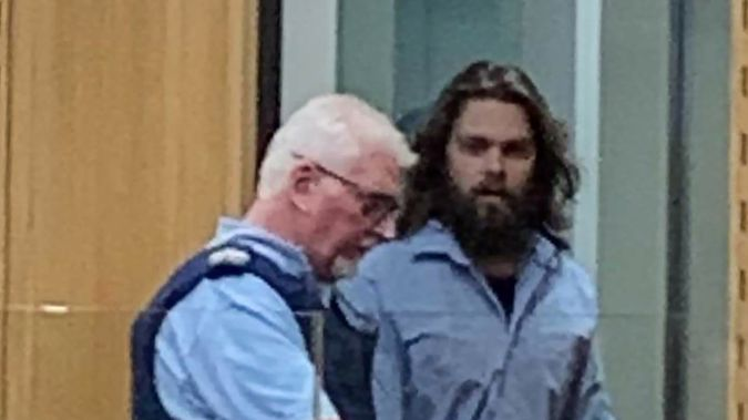 Tristan Locke is standing trial at the High Court in Christchurch accused of murdering Mark Cowling last September. (Photo / Kurt Bayer)