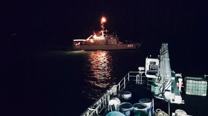 The NZ Defence Force is helping in a search and rescue effort in Fiji. (Photo / Republic of Fiji Navy)