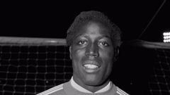 Former French football player from Nimes Olympique Jean-Pierre Adams. (Photo / Getty)