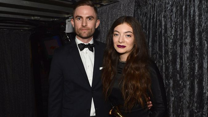 Joel Little and Lorde attend the 56th Grammy Awards in Los Angeles, California in 2014. (Photo / Getty Images)