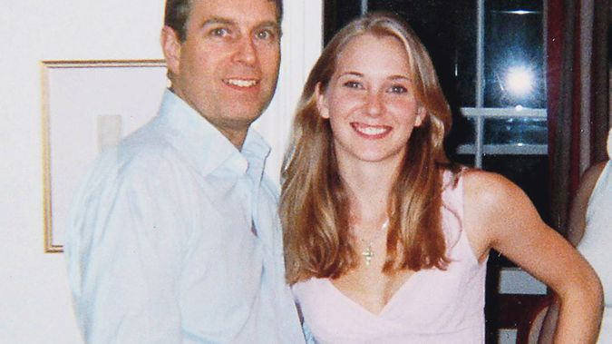 Prince Andrew with Virginia Roberts, now Giuffre, in 2001. (Photo / File)