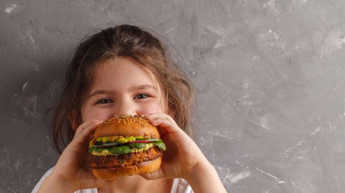 The study revealed children on vegan diets grow up 3cm shorter and have weaker bones than meat-eating peers. (Photo / 123RF)