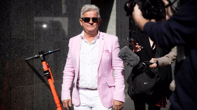 Restaurateur Leo Molloy was convicted of breaching killer Jesse Kempson's name suppression. (Photo / NZ Herald)