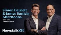 Simon Barnett and James Daniels Afternoons begins next week on Newstalk ZB